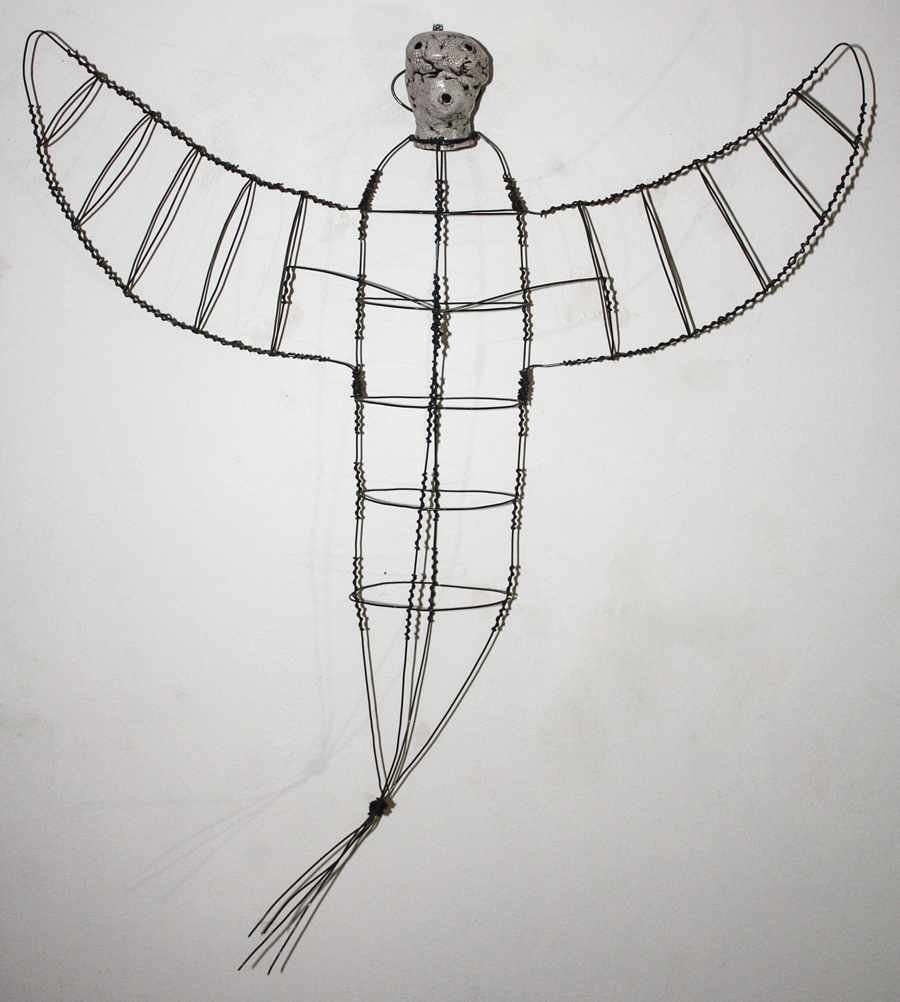 #103 Intergallactic Angel with Wire Body