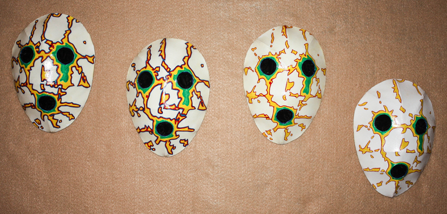 Phoebus Masks 1, 2, 3 and 6