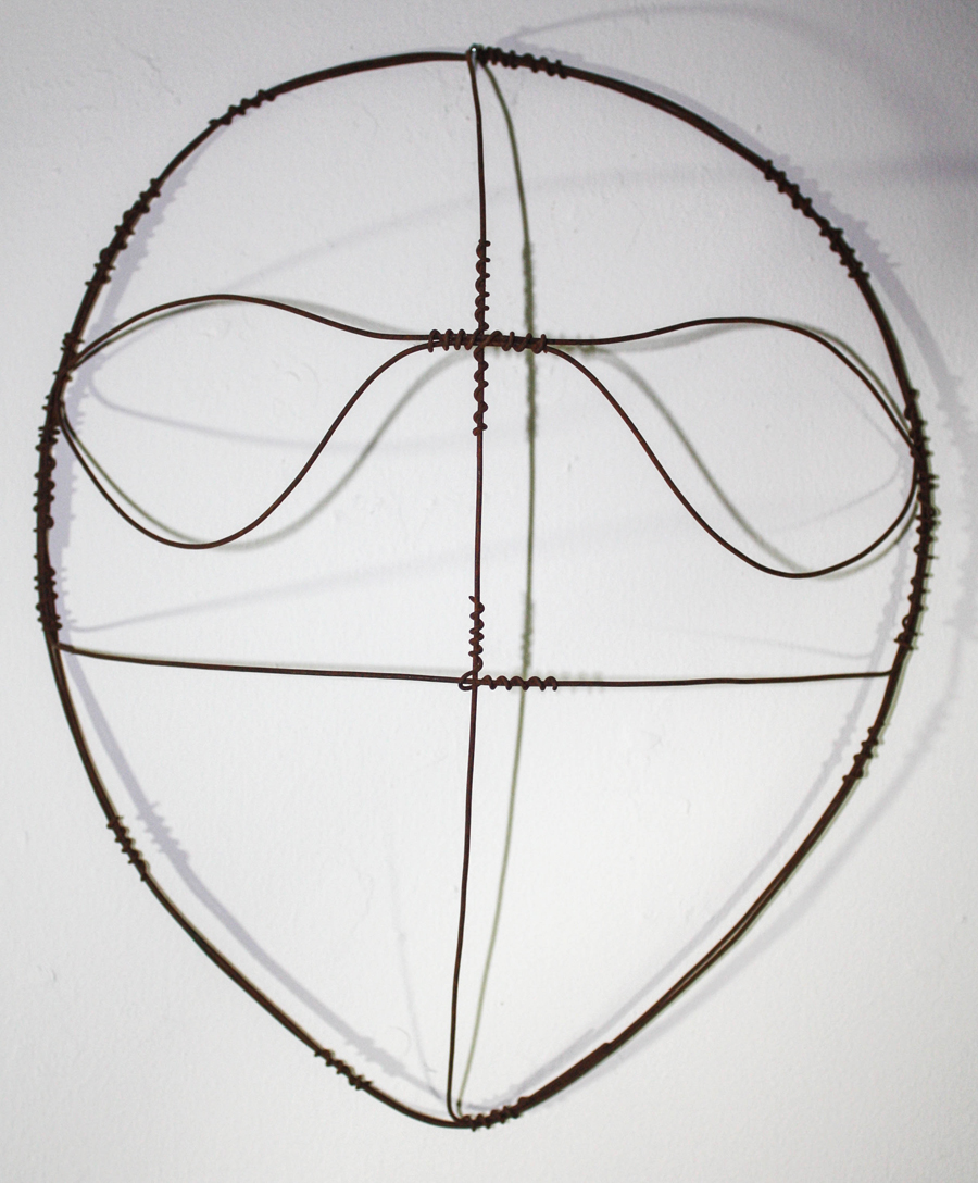 Shamanic Wire Mask #109
