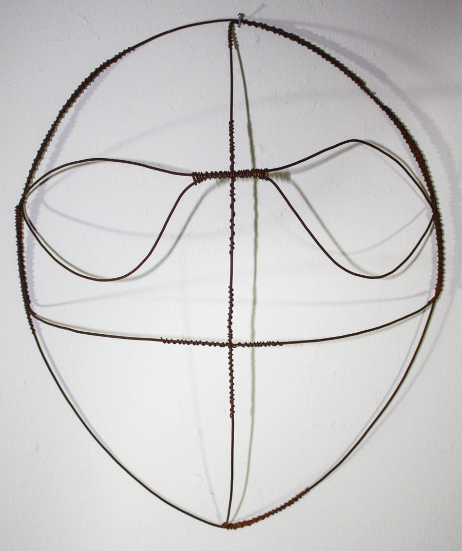 Shamanic Wire Mask #113